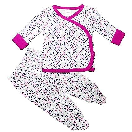 6f3b1ca4df463 ベビー服 新生児肌着 赤ちゃん服 0~3カ月 出産祝い 木綿生地 長袖 前開き
