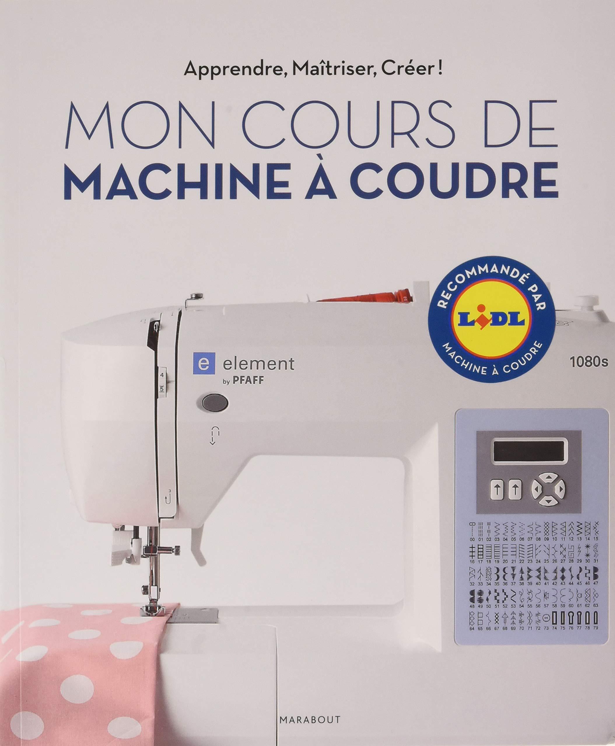 Mon cours de machine a coudre électronique: 31618 Couture: Amazon ...