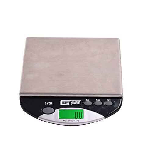 Terrific Coffee Gear Cgport2Kg Brewsmart Portafilter Bench Scale One Size Silver Squirreltailoven Fun Painted Chair Ideas Images Squirreltailovenorg