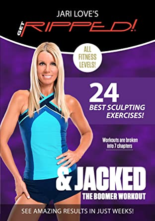 Get RIPPED! and Jacked - The Boomer Workout by Jari Love