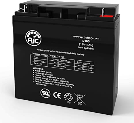 APC SmartUPS 2200XL 12V 18Ah UPS Battery This is an AJC Brand Replacement