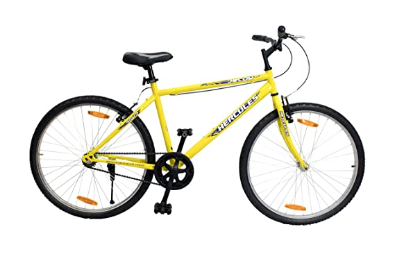 Hercules Decoy RF 26T Single Speed Adult Cycle(Canry Yellow)