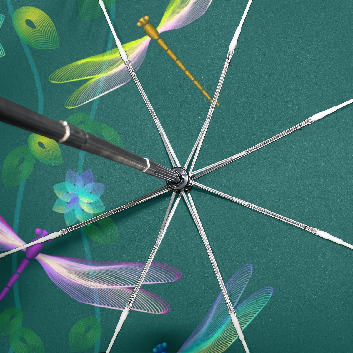 Amazon.com: baihuishop libélula flor resistente al viento ...