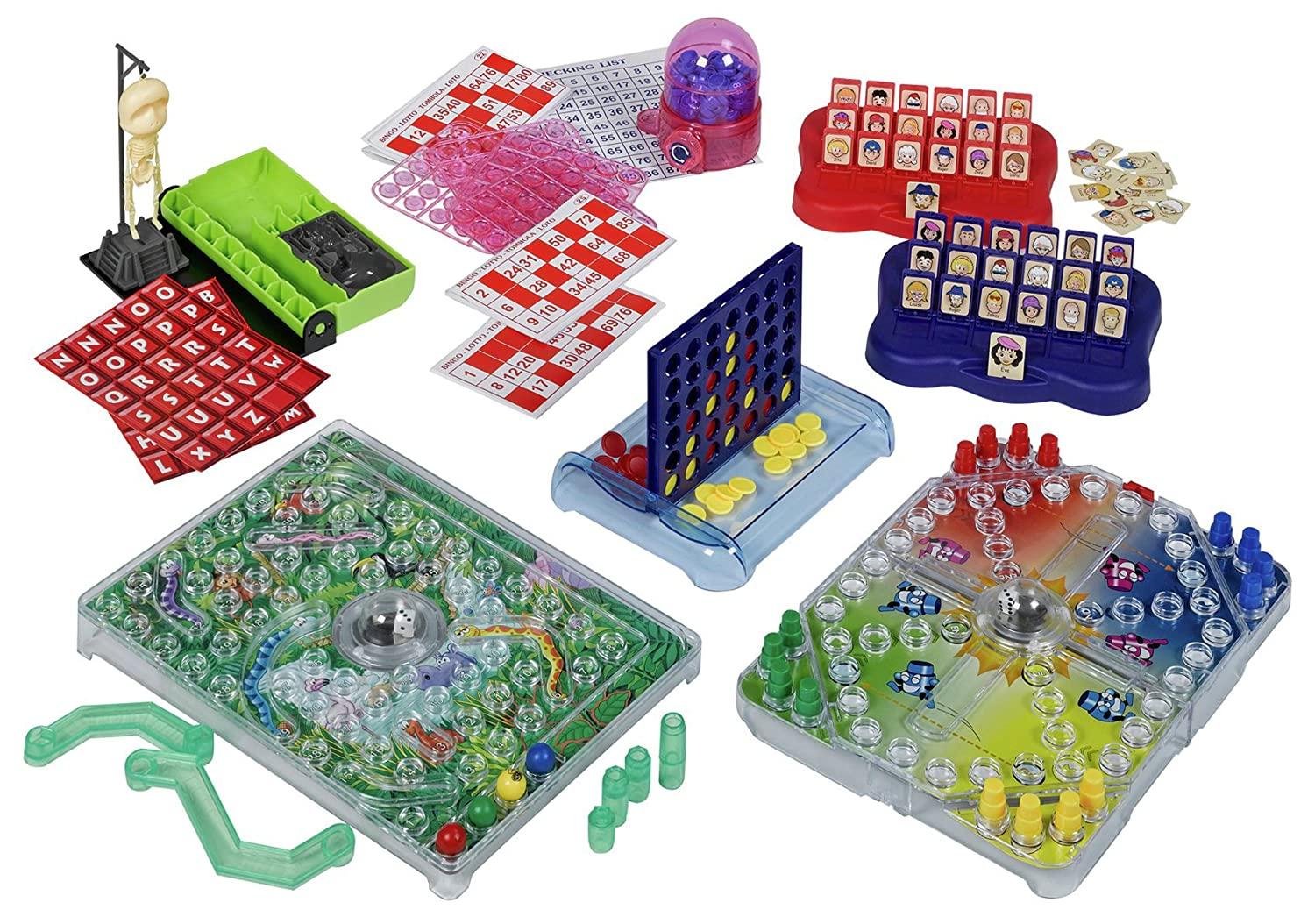 Chad Valley 6 In 1 Games Toys Circuit Board