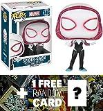 Spider Gwen: Funko POP! x Marvel Universe Vinyl Bobble-Head Figure + 1 FREE Official Marvel Trading Card Bundle (072612)