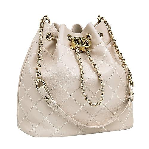 1630769e6058 Bucket Purses for Women, KILAMAL Small Summer Drawstring Handbags Shoulder  Bag