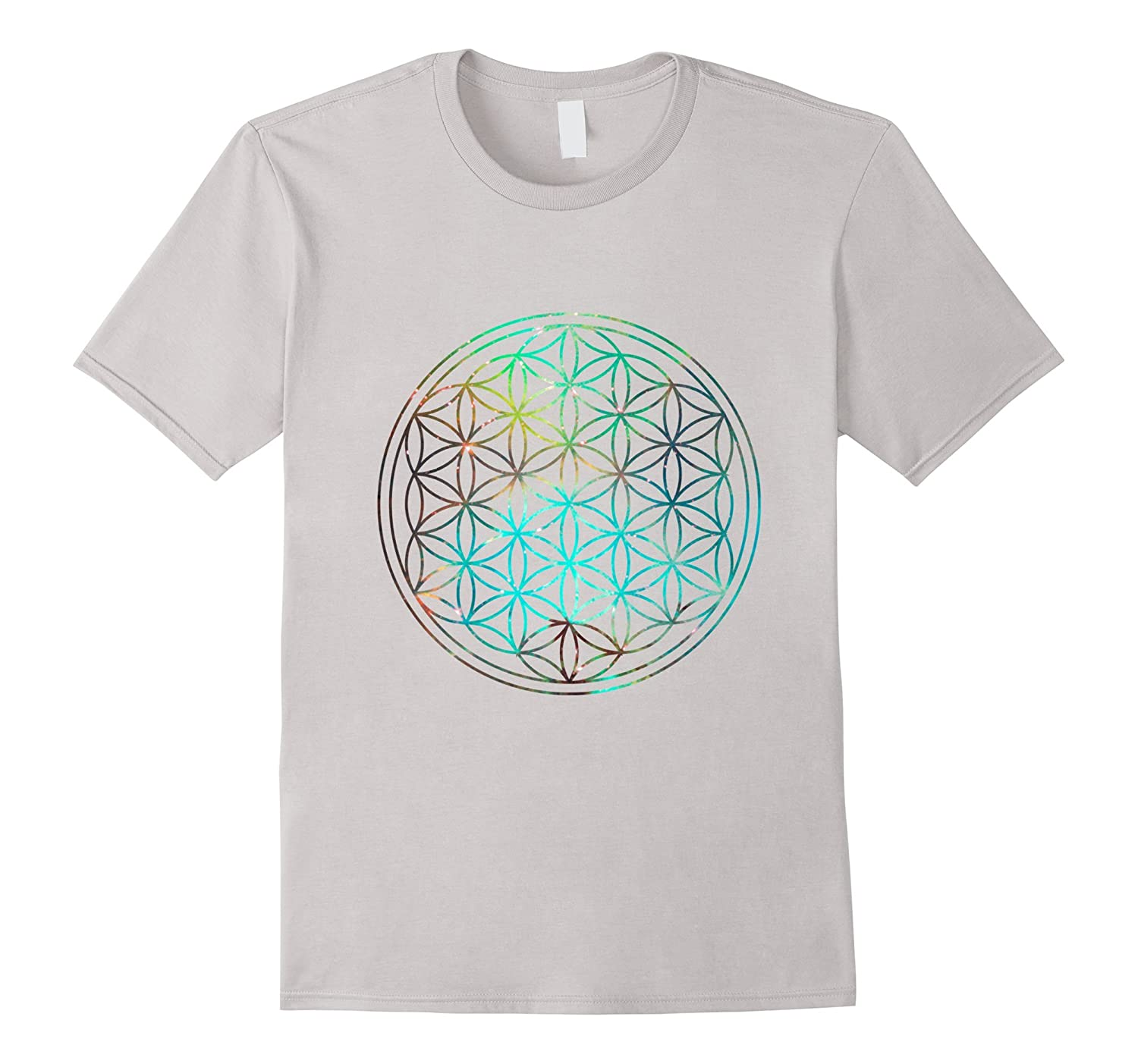 Flower of Life Space Edition T-Shirt-TD