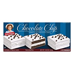 Little Debbie Chocolate Chip Cakes 12 Oz (2 Boxes)