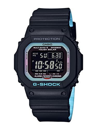 0fb253ebee8f Casio Reloj Digital para Hombre de Cuarzo con Correa en Resina  GW-M5610PC-1ER  Amazon.es  Relojes