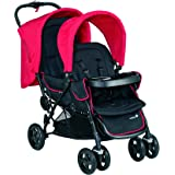 Safety 1st Tandem Duo Deal Poussette Plain Red