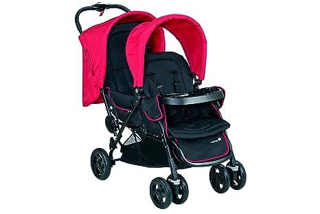 Safety 1st Duodeal 11488850 Silla de paseo gemelar, color Plain red [Modelo antiguo]