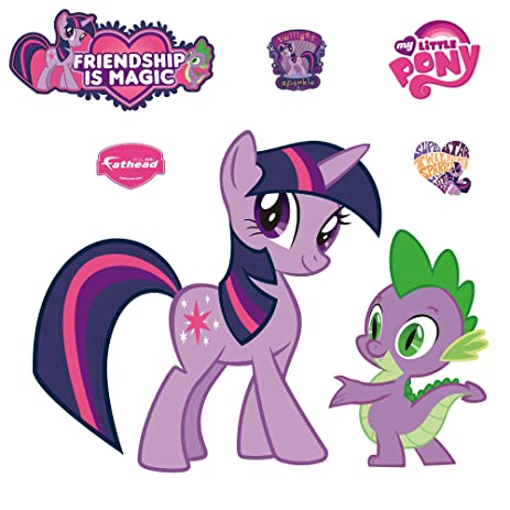 My Little Pony Twilight Sparkle And Spike Wall Graphic