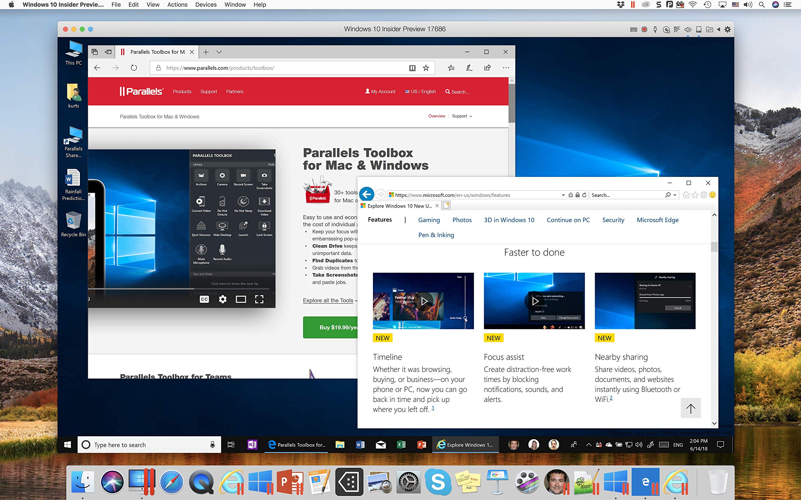Parallels Desktop 14 for Mac, 1 Year Subscription [Mac Download] by Parallels Software (Image #5)