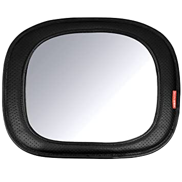 Go back go bug dual face mirror  Dual Facing Baby Shatter Resistant Mirror Car