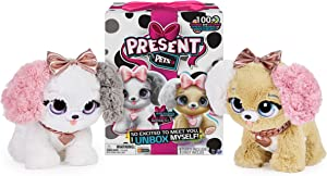 Present Pets, Fancy Puppy Interactive Plush Pet Toy with Over 100 Sounds and Actions (Style May Vary)