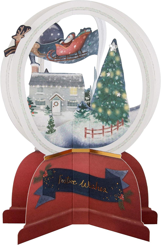 Hallmark Tarjeta de Navidad Pop Up para unidades