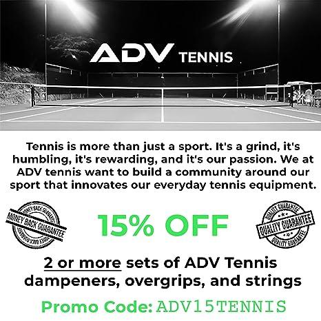 ADV Tennis Tenis amortiguadores vibración, por Adv | elegir ...