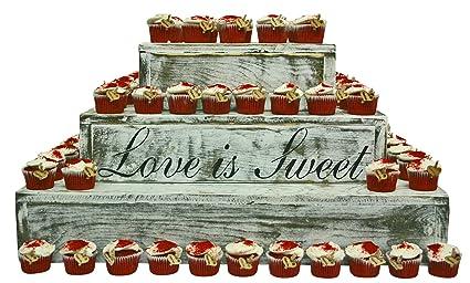 Amazon.com | Rustic Wedding Country Barn Farmhouse Wedding Cake ...
