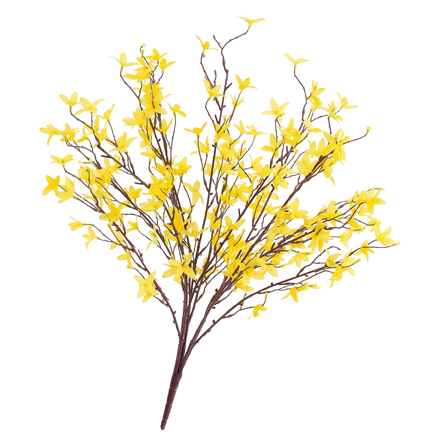 Forsythie Artificial Tree With 5 Branches Yellow 60 Cm