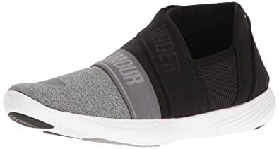 857f23a7dc8f77 Under Armour Men's Street Precision Slip On Color Blocked Sneaker, Gray  Wolf (031)