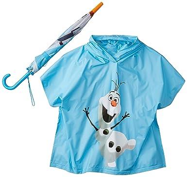 b2db73350 Amazon.com  Disney Boys  Berkshire Frozen Olaf Umbrella and Poncho ...