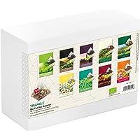 Bio Tee-Set Superior mit 45 Triangle Sachets - Tee Geschenkset/Tee Probierset, 117,5 g