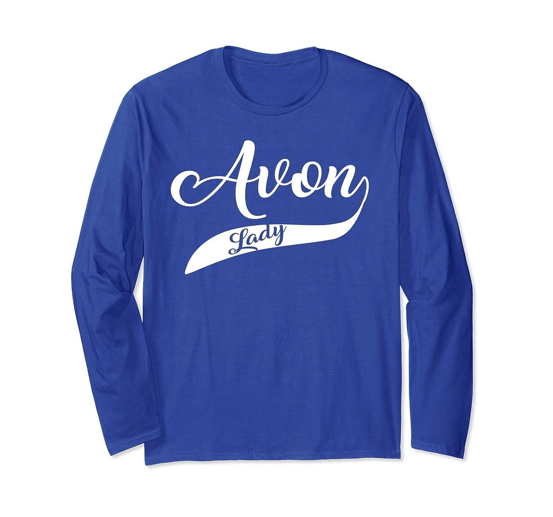 Avon Lady Ribbon Long Shirt - Avon For Gifts-mt
