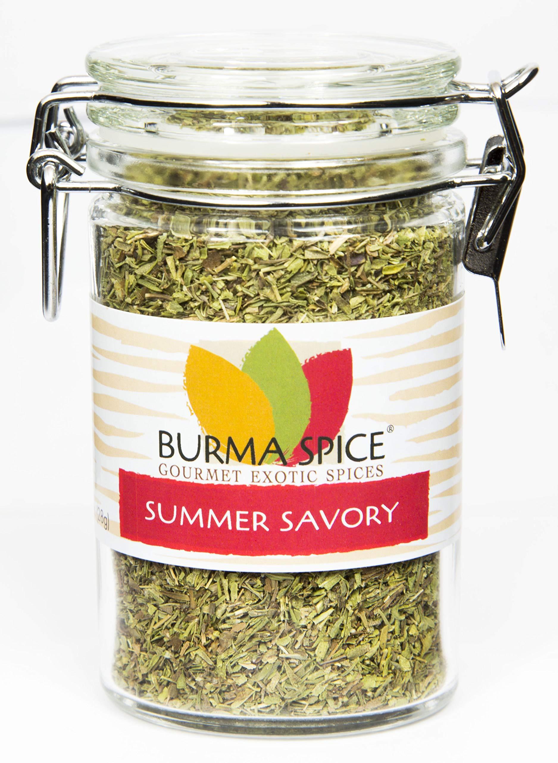 Summer Savory : Dried Herb : All Natural : No additives, Seasoning Spice : Kosher (1oz.)