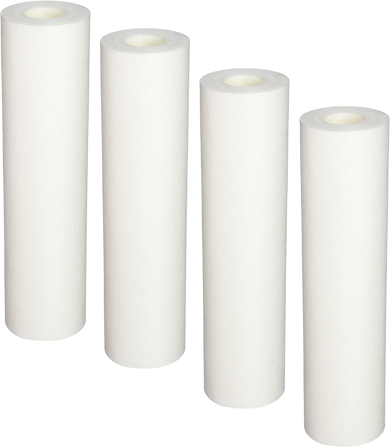 Sediment Pre-filters for Whole House Water Filter Systems Aquasana EQ-304 Replacement 10-Inch White,4-pack