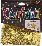 Beistle CN071 Gold Stars Confetti, 1/2-Ounce