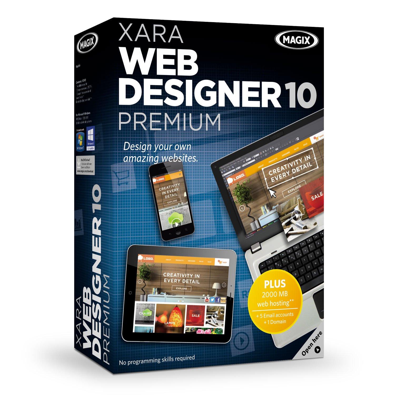 Amazon Com Magix Xara Web Designer 10 Premium Software