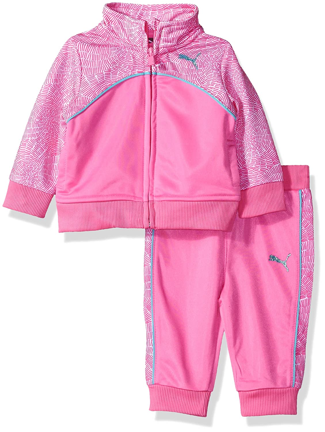 PUMA Baby Girls' Swirl Tracksuit Set