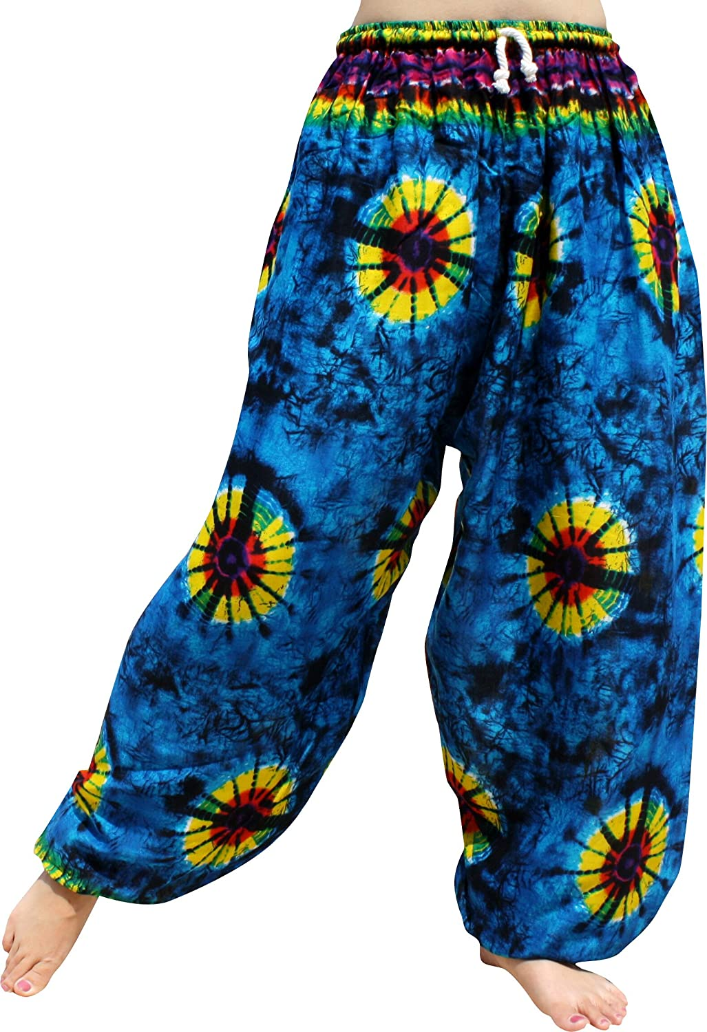 Full Funk Funk PANTS Large Large|Tie メンズ B07DPLGN32 Large|Tie Dye Blue Tie Dye Blue Large, 手仕上げ印鑑 川島:fe071eb4 --- ijpba.info