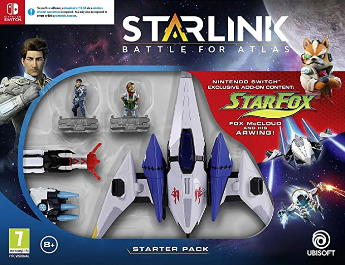 Starlink Starter Pack [AT PEGI] - Nintendo Switch [Importación alemana]: Amazon.es: Videojuegos