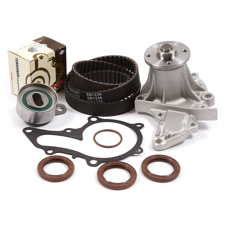 Amazon.com: 93-97 Geo Toyota 1.6 DOHC 16V 4AFE Timing Belt Kit Water Pump: Automotive