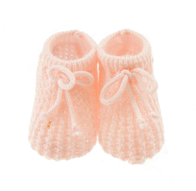 Scarpine da neonato alluncinetto per maschi e femmine