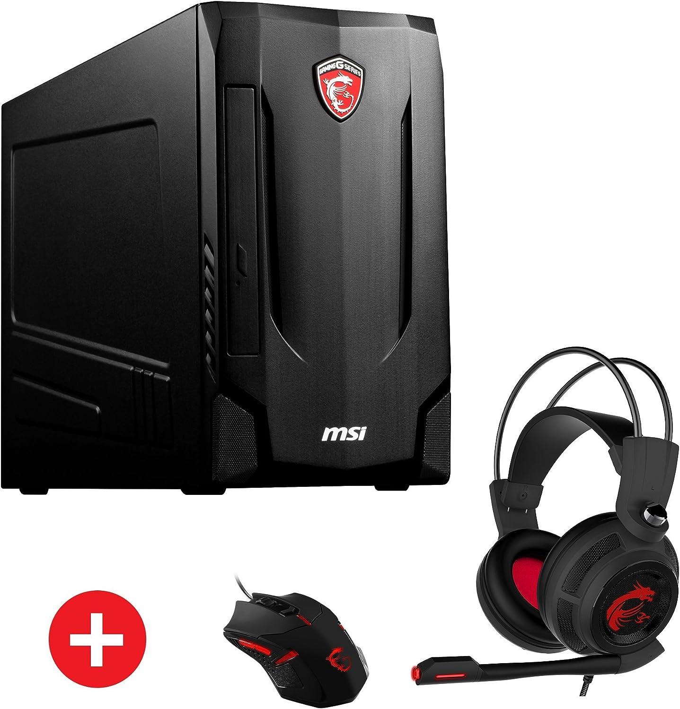 MSI Nightblade MIB VR7RC-245DE + Gaming Pack 3 GHz 7ª generación de procesadores Intel® Core™ i5 i5-7400 Negro Escritorio PC - Ordenador de sobremesa (3 GHz, 7ª generación de procesadores Intel® Core™