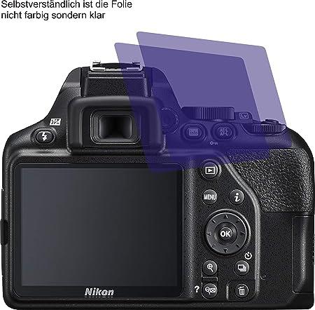 2x Displayschutz Folie Klar für Nikon D7000 Schutzfolie Displayfolie