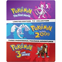 Pokemon Movies 1-3 on Blu-ray