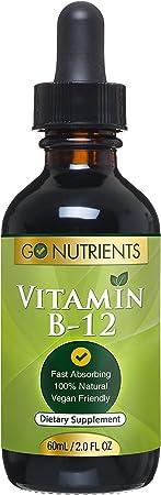 Vitamin B12 Sublingual Liquid Drops
