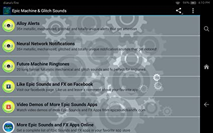 Amazon com: Epic Machine and Glitch Sounds: Appstore for Android