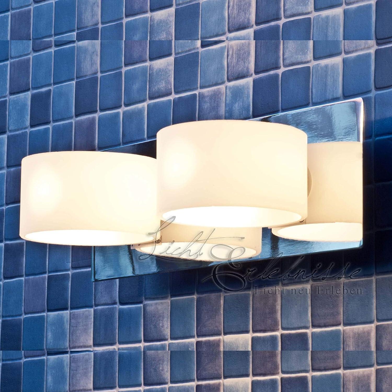 Moderne Double Applique Luminaire Du Miroir - Luminaire Salle De Bain IP44 Chrome 1/1/746