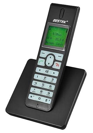 Amazon.com: BESTEK Mobile inalámbrico Teléfono Teléfono ...