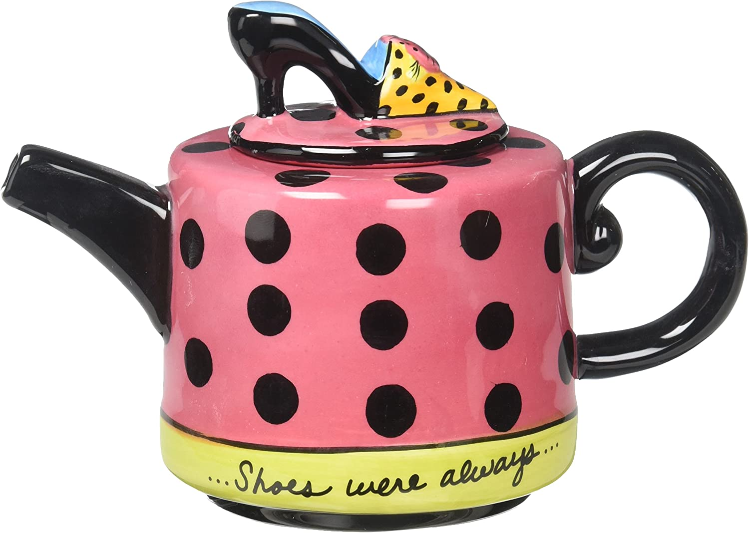 8-1//4-Inch Appletree Design Have Some Tea Teapot