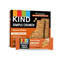Deals on 40-Pack KIND Simple Crunch Bars, Peanut Butter 1.4oz