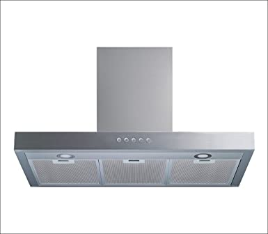Winflo 30 Wall Mount Stainless Steel Convertible Range Hood with 450 CFM Air Flow, Aluminium Mesh Filters and LED Lights