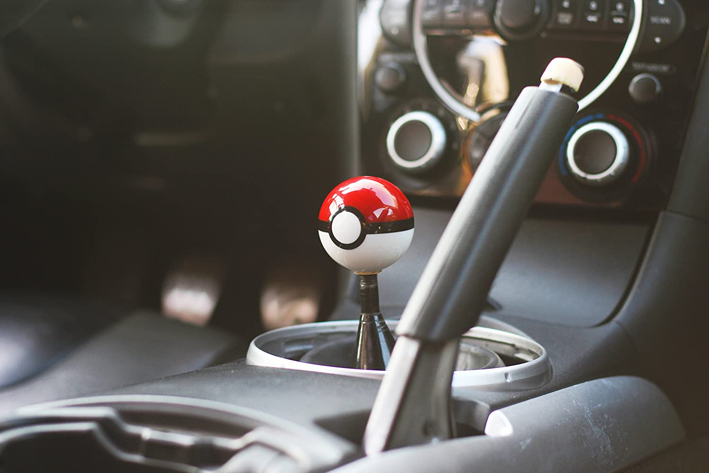 Kei Project Pokemon Pokeball Round Shift Knob Available in 8x1.25 10x1.25 10x1.50 12x1.25 10x1.50
