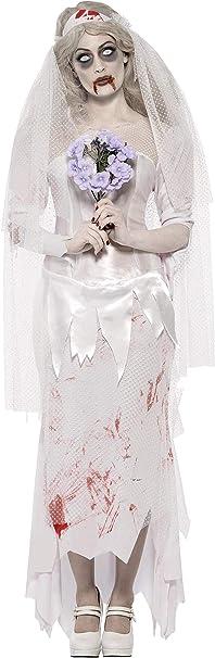 Smiffys Disfraz de Novia Zombie para Mujer: Amazon.es: Juguetes y ...
