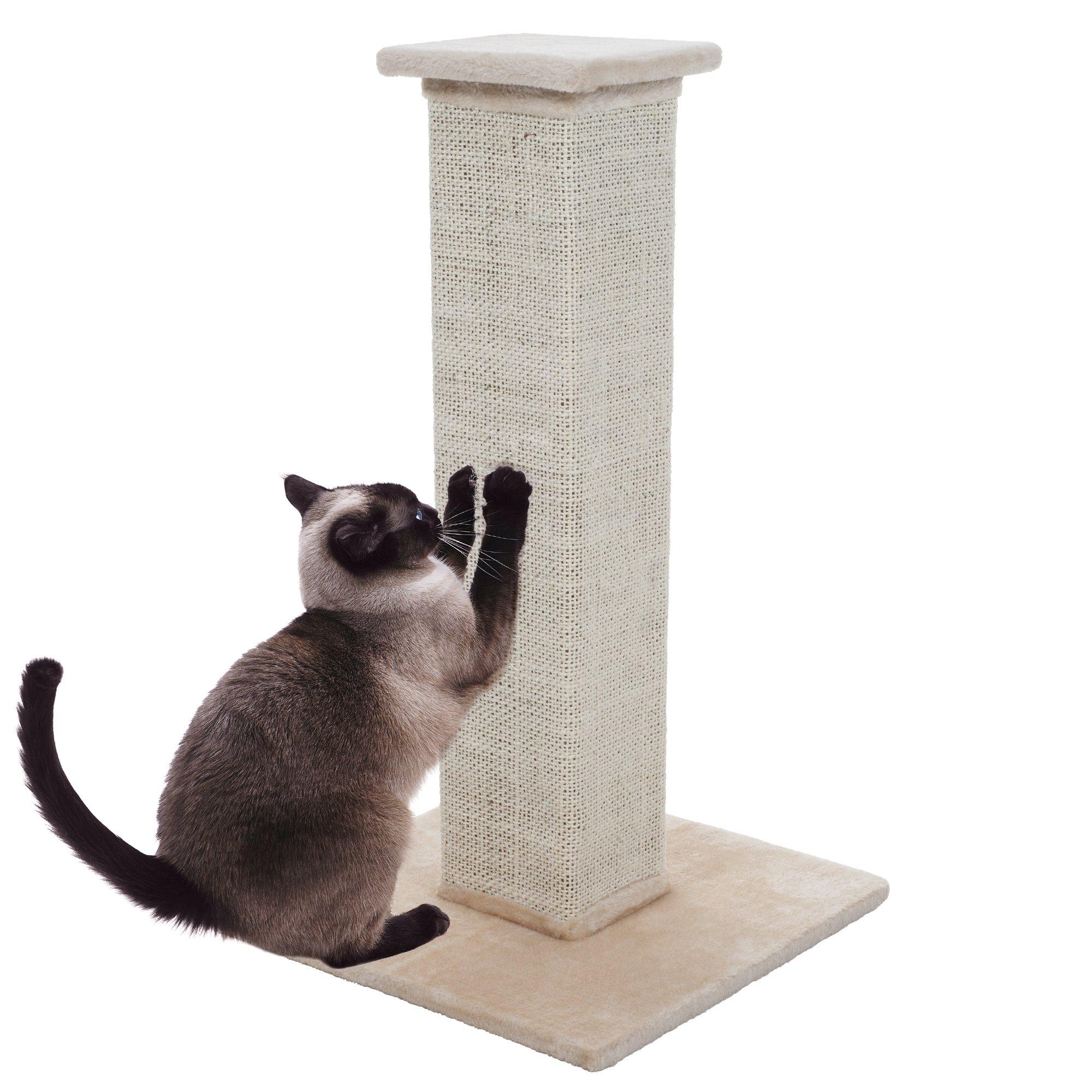 PETMAKER Sisal Burlap Cat Scratching Post, 28''