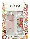 Yardley London English Rose Eau de Toilette and Body Spray Christmas Gift Set 50 ml - Pack of 2